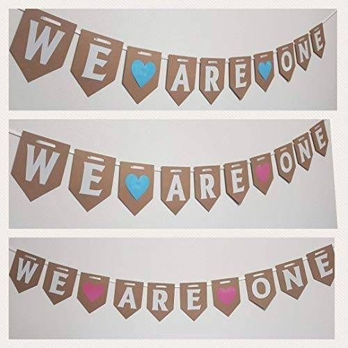 WE ARE ONE First Birthday Bunting