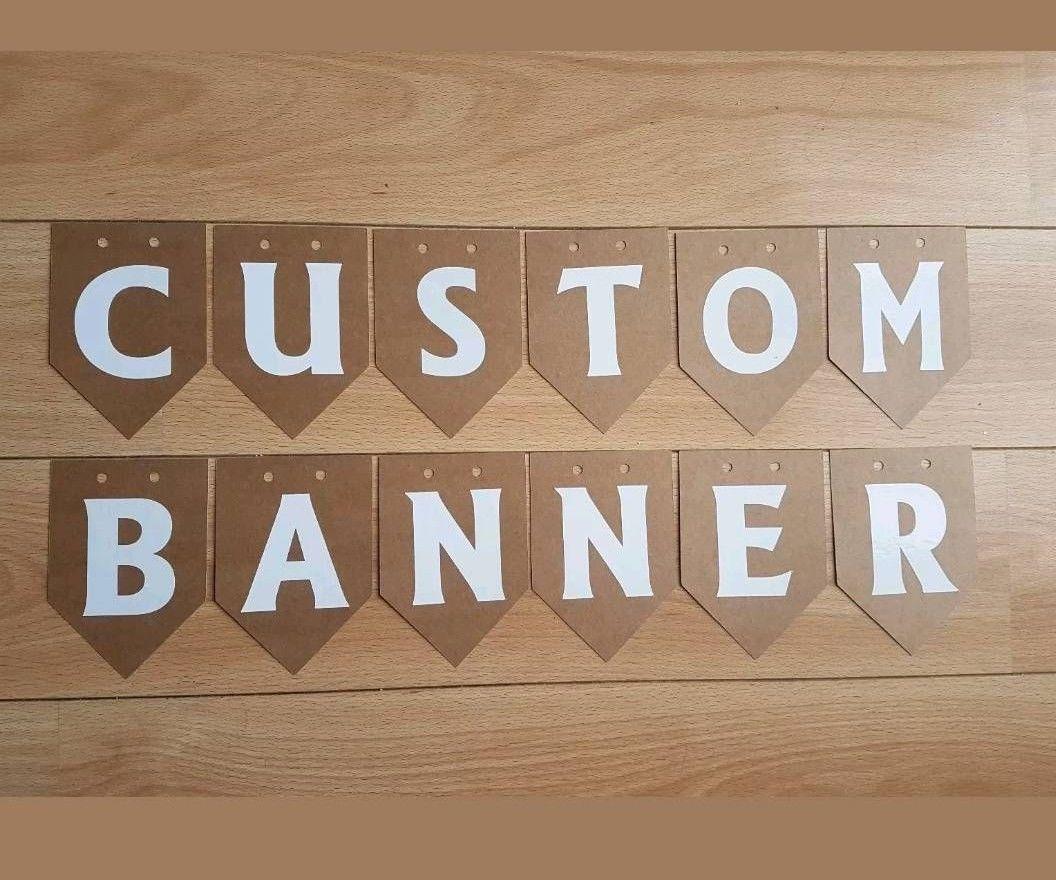 Customised Buntings