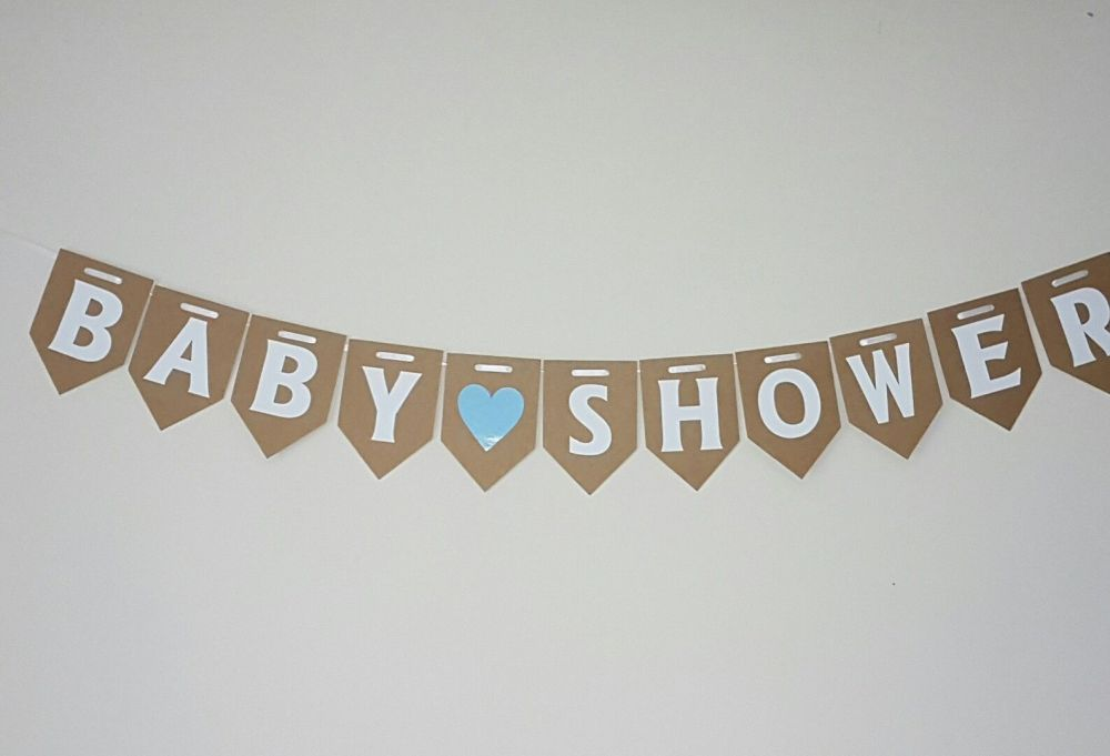 BABY SHOWER Bunting.