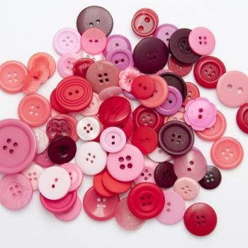 50g PINK Buttons
