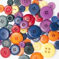 50g BRIGHT Buttons