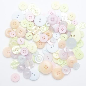 50g PASTEL Buttons