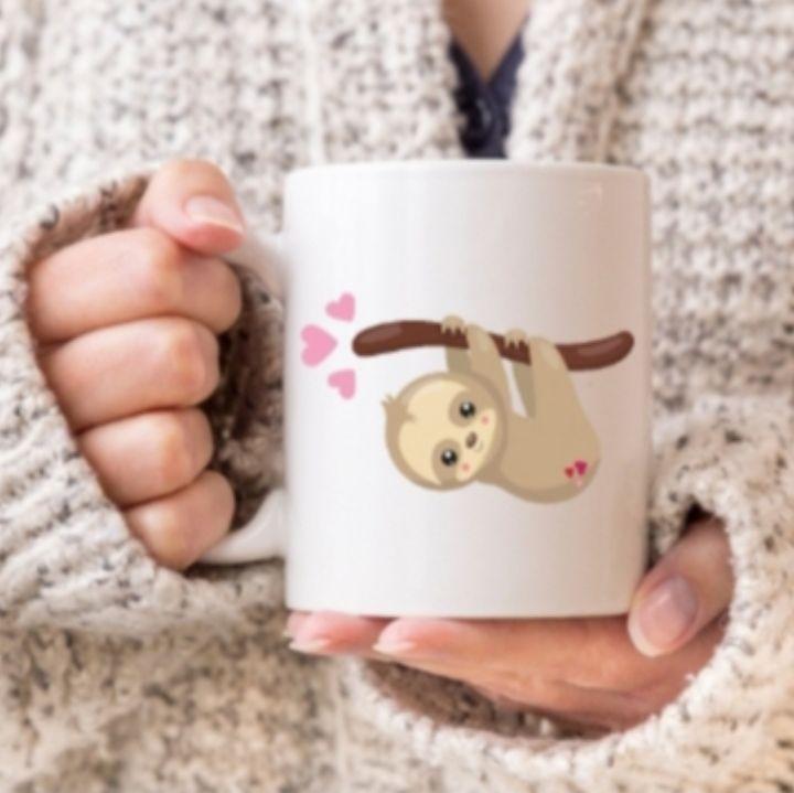 Sloth mug - Hanging Sloth