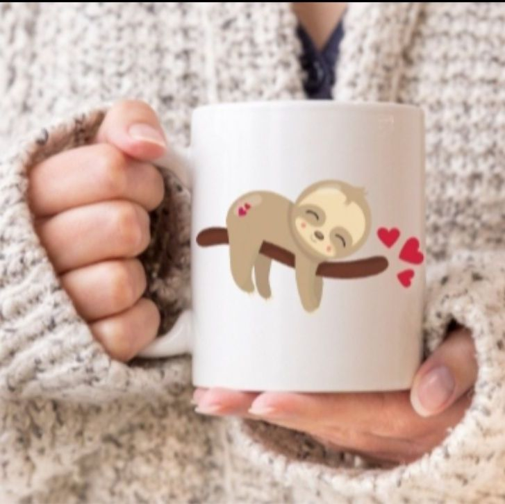 Sloth mug - Sleeping Sloth