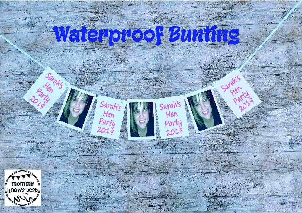 Waterproof Hen Party Bunting