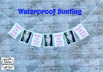 Waterproof Hen Party Bunting