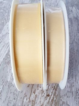 Grograin Ribbon - GOLD - 20 metre reels. 10mm, 15mm or 22mm
