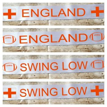 England right world cup banner. Party decoration. Swing Low