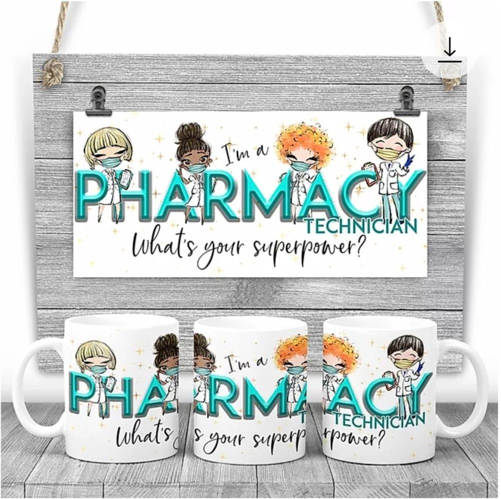 PHARMACY TECHNICIAN Mug - I am a PHARMACY TECHNICIAN what's your superpower