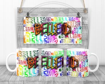 Bellend - Swearing sweary mug.  Adult humour