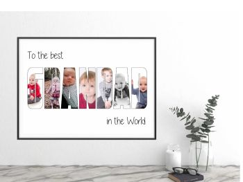 GRANDAD / GRANDPA photo. Digital download to print at home
