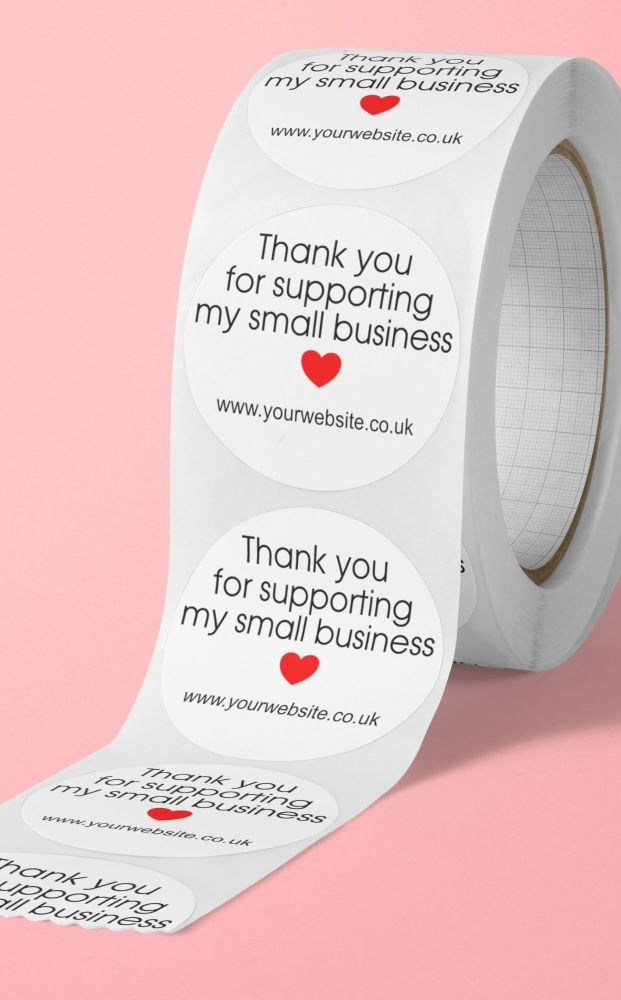 Thank you for supporting my small business, personalised stickers