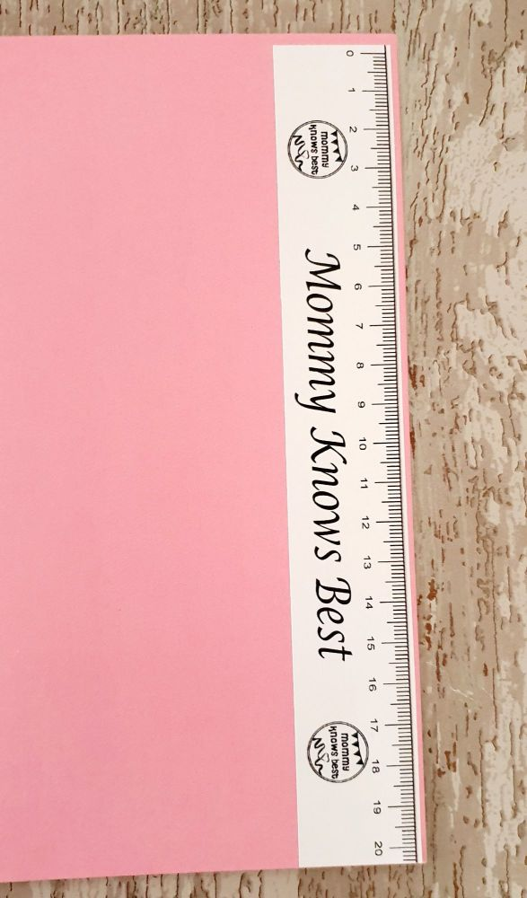 RULER - 20cm Personalised Business ruler sticker