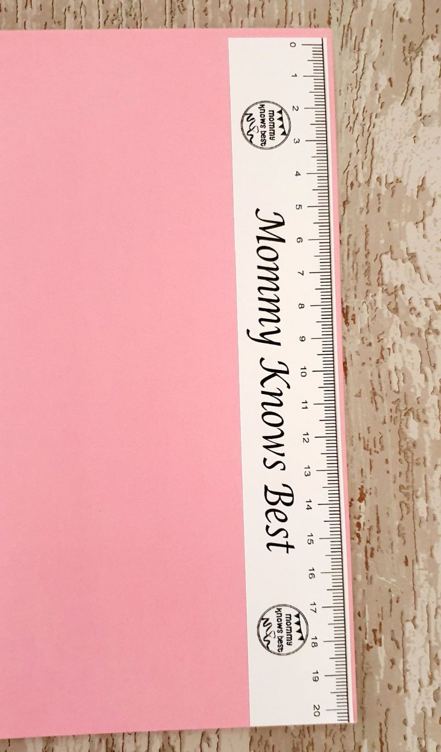 Personalised Business ruler sticker