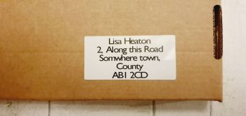 Return address labels 3m x 6cm
