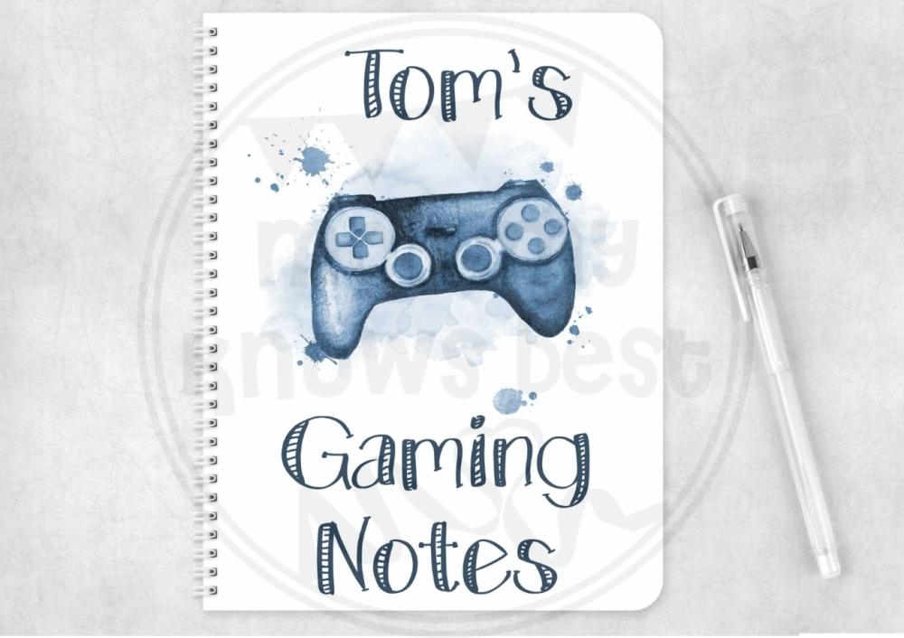 Notebook - personalised gaming notes, notepad