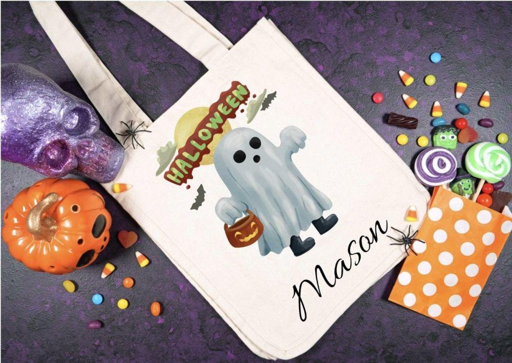 Halloween goody bag. Loot bag