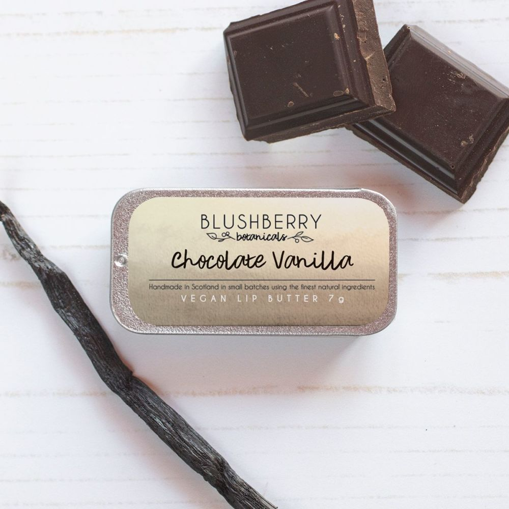 Chocolate Vanilla Lip Butter