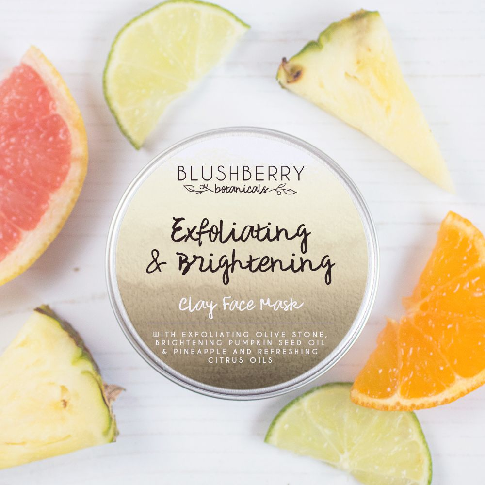 Exfoliating & Brightening Clay Face Mask