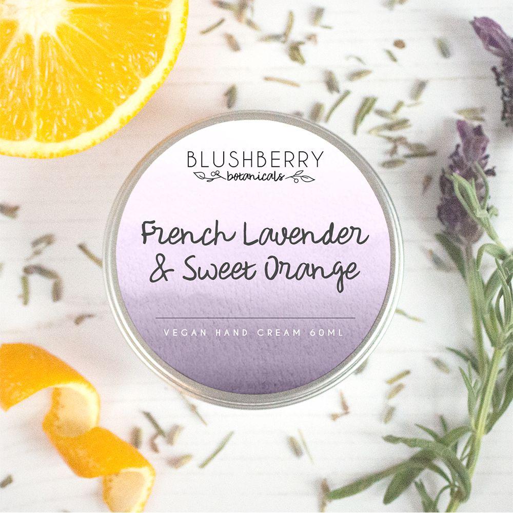 French Lavender & Sweet Orange Hand Cream