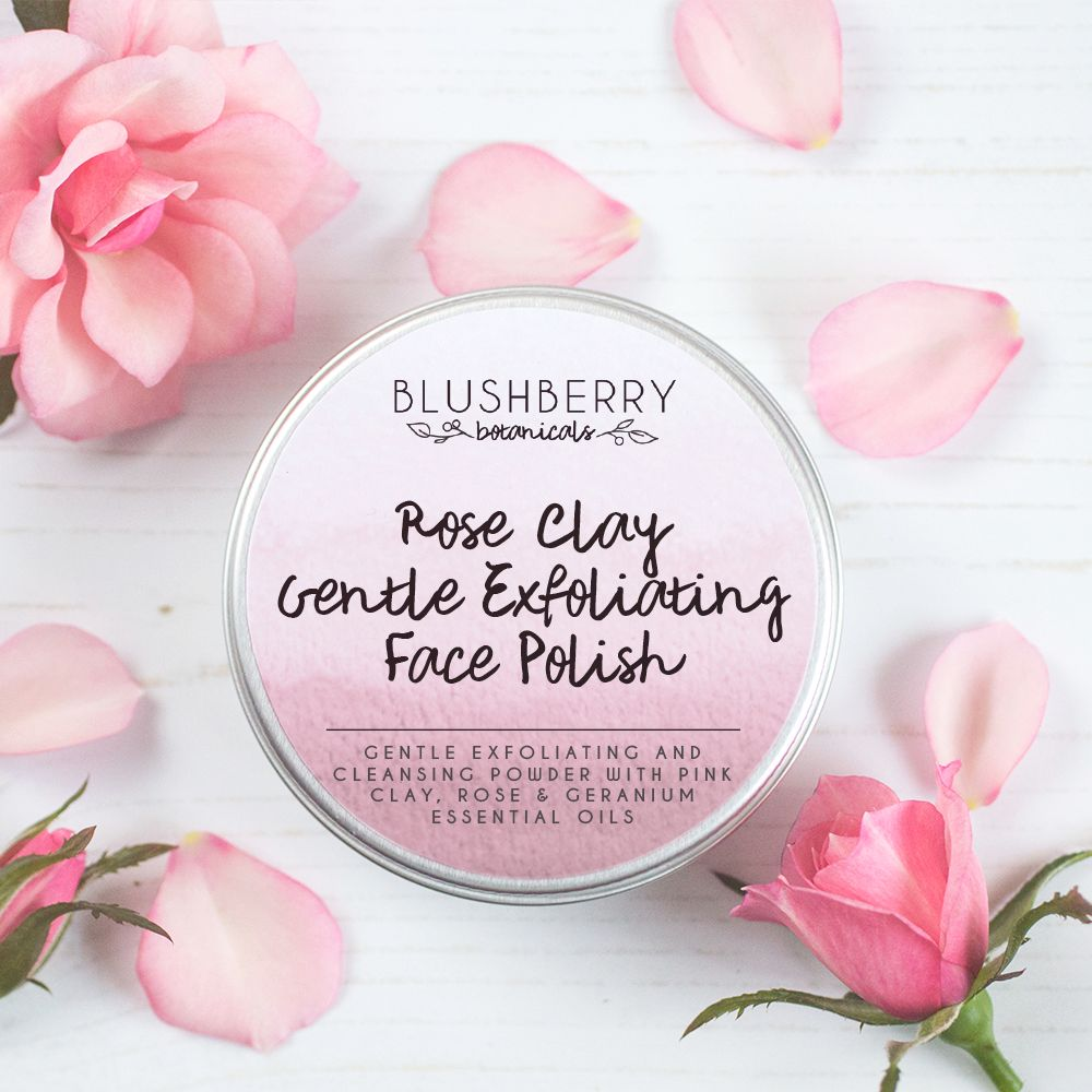 Rose Clay Gentle Exfoliating Face Polish