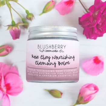 Rose Clay Nourishing Cleansing Balm