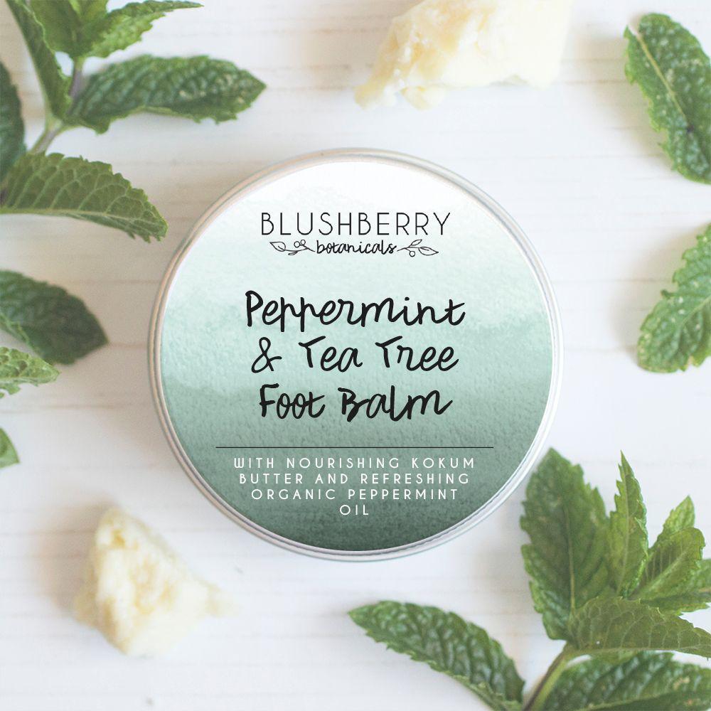 Peppermint & Tea Tree Foot Balm