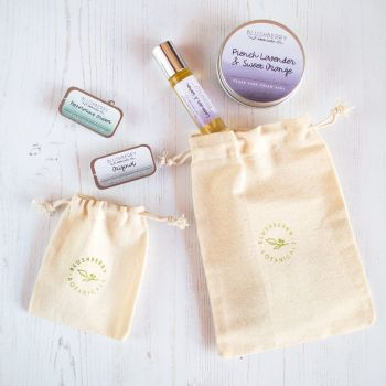 Cotton Drawstring Gift Pouch