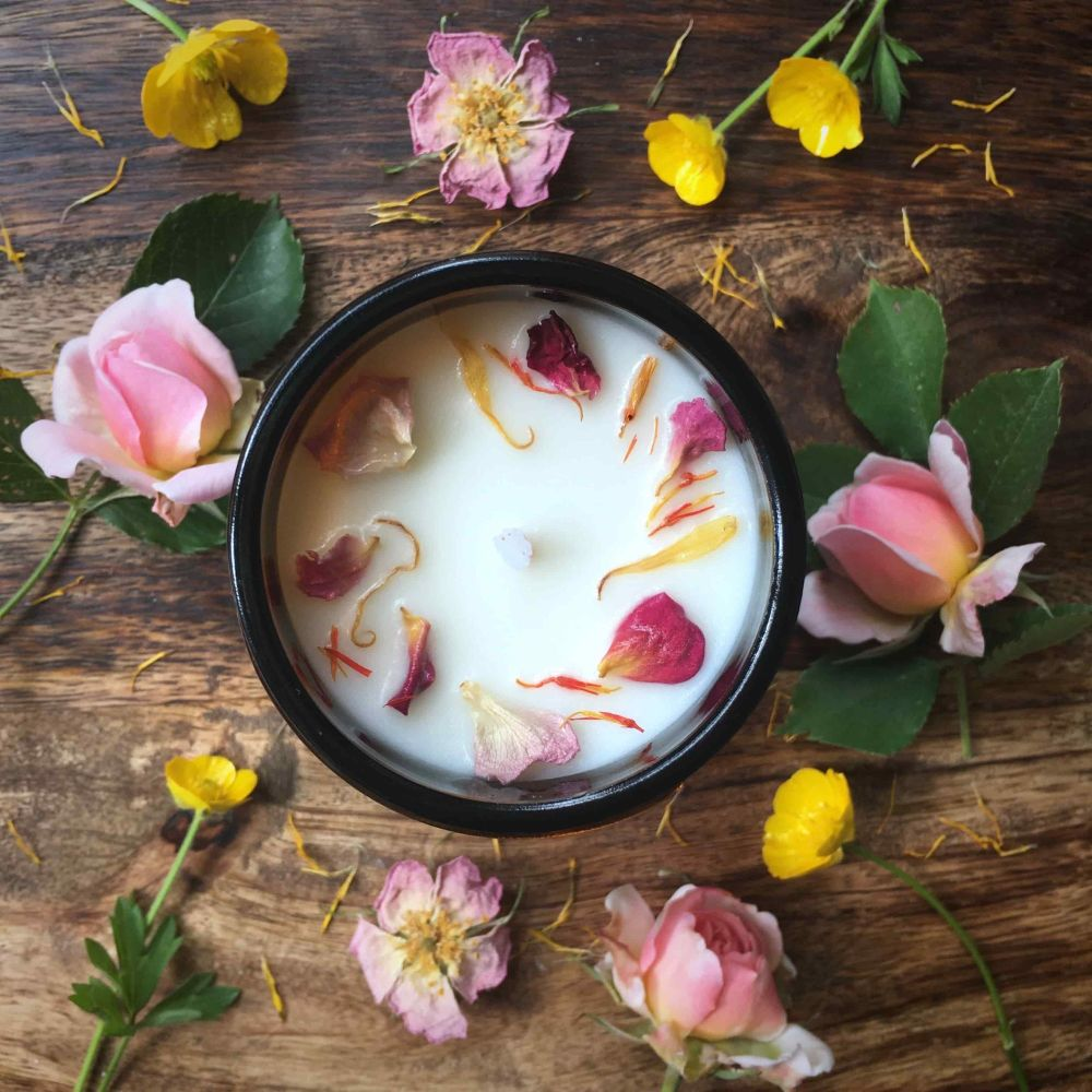 Sweet Serenity Botanical Candle