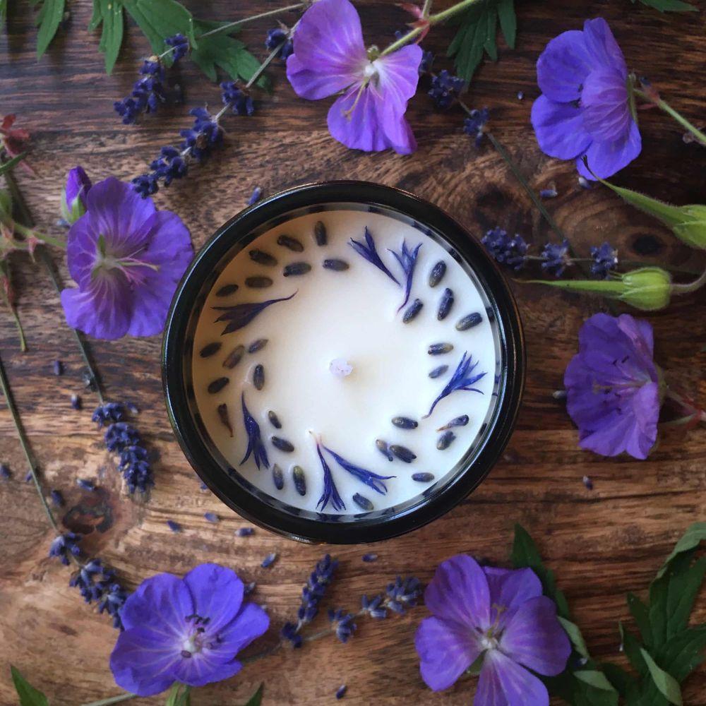 Relax & Unwind Botanical Candle