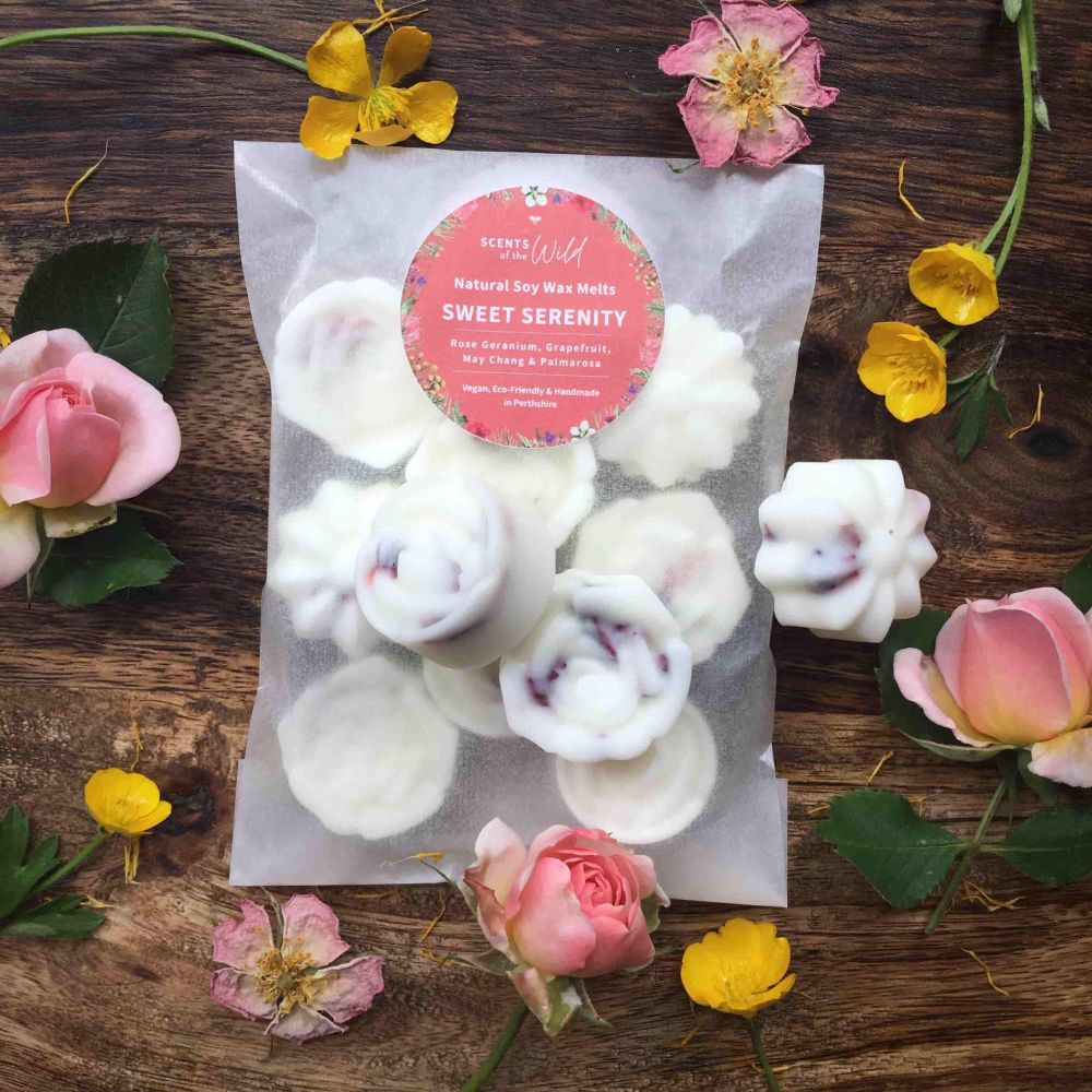 Sweet Serenity Botanical Wax Melts