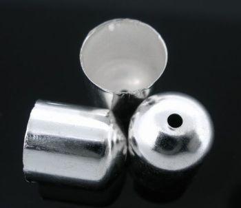 Blunt End Bead Caps 10x11mm