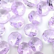 Lilac Octagon Bead 14mm
