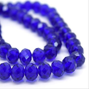 Royal BlueFaceted Rondelle Bead