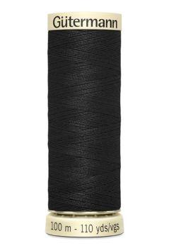 Gütermann Sew All Thread - Basic Essential - Black - Colour code 000