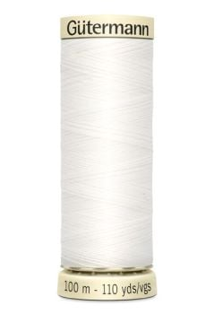Gütermann Sew All Thread - Basic Essential - White - Colour code 800