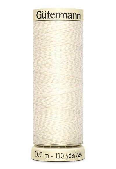 Gütermann Sew All Thread - Colour code 1