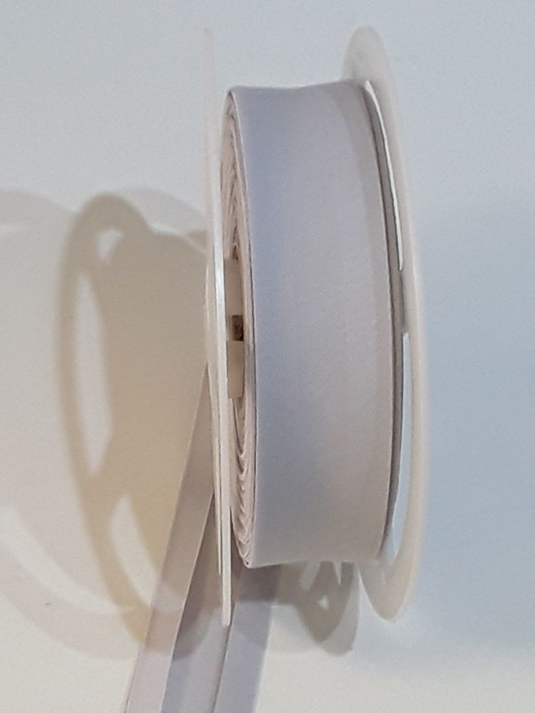 Bias Binding - Silver - soft grey