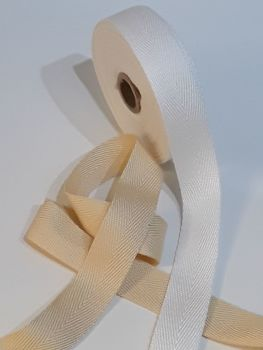 Cotton Herringbone Weave Tape