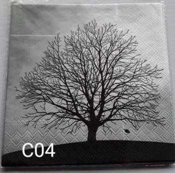C04 - Tree Silhouette