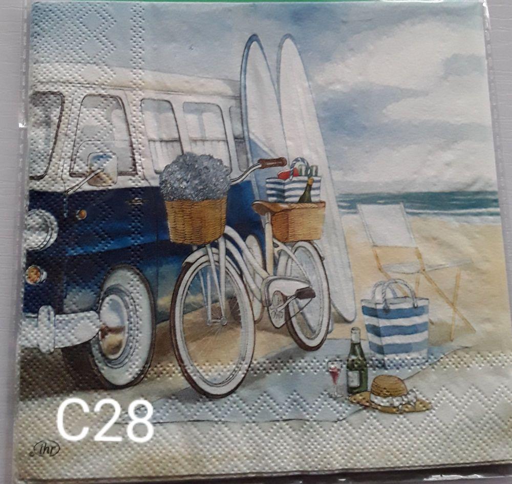 C28 - Beach scene