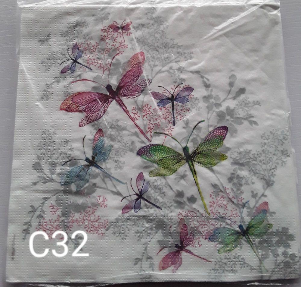 C32 - Dragonflies
