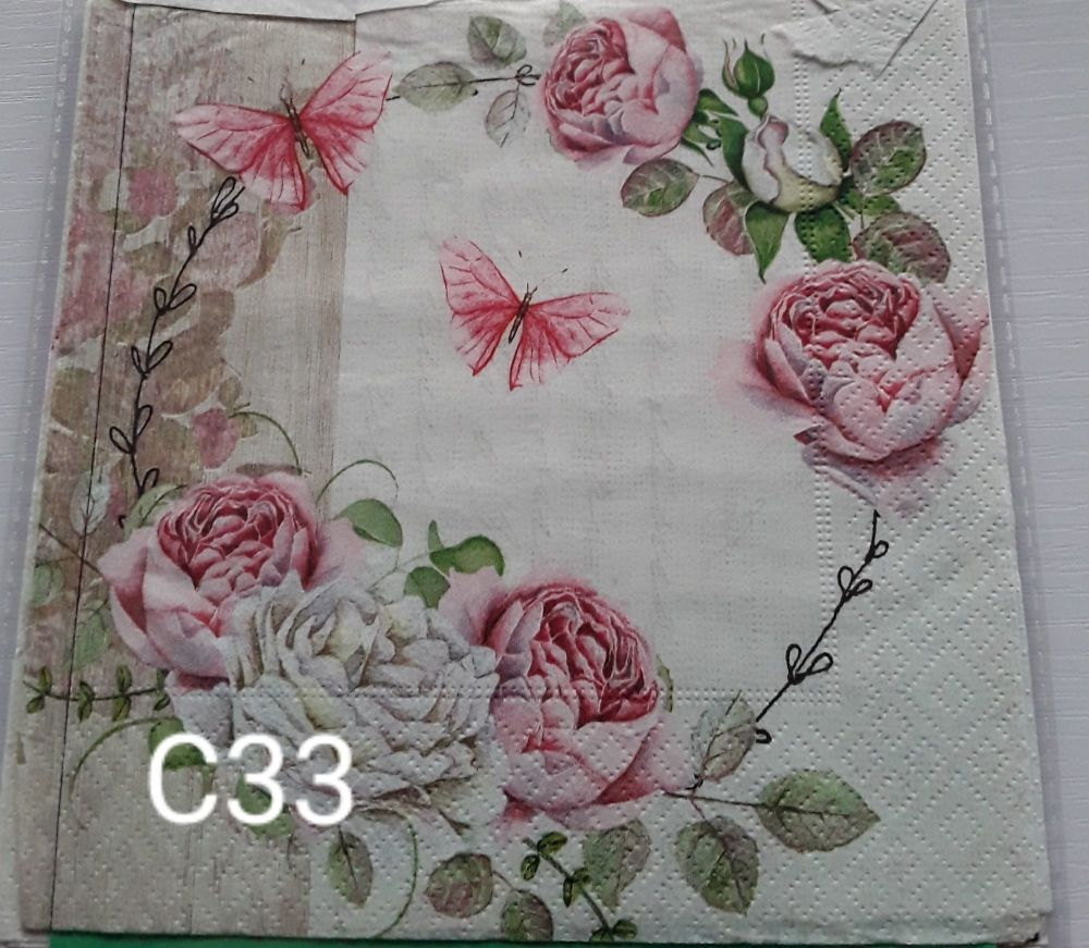 C33 - Butterflies