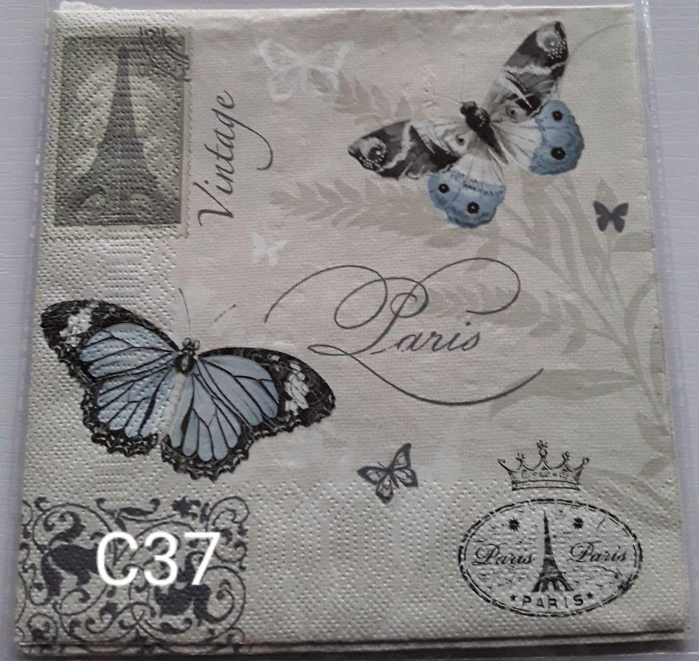 C37 - Butterflies