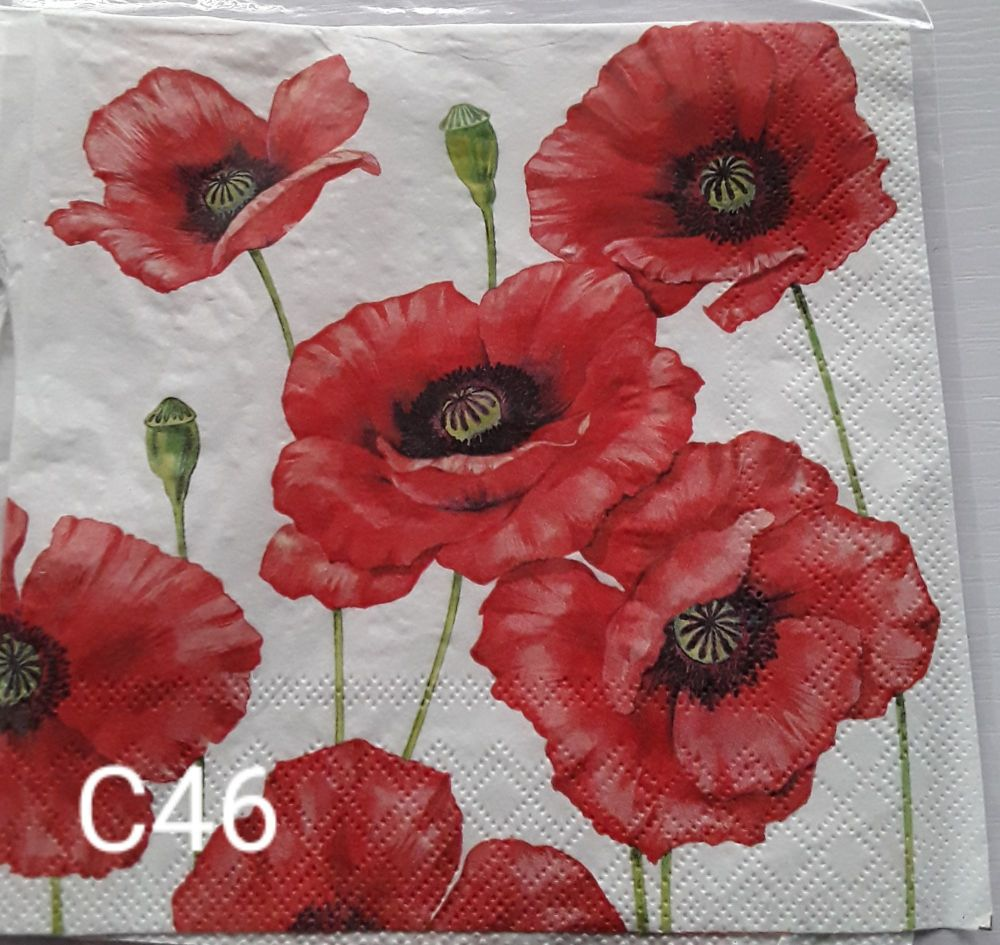 C46 - Poppies