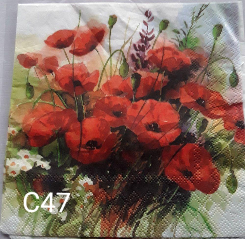 C47 - Poppies