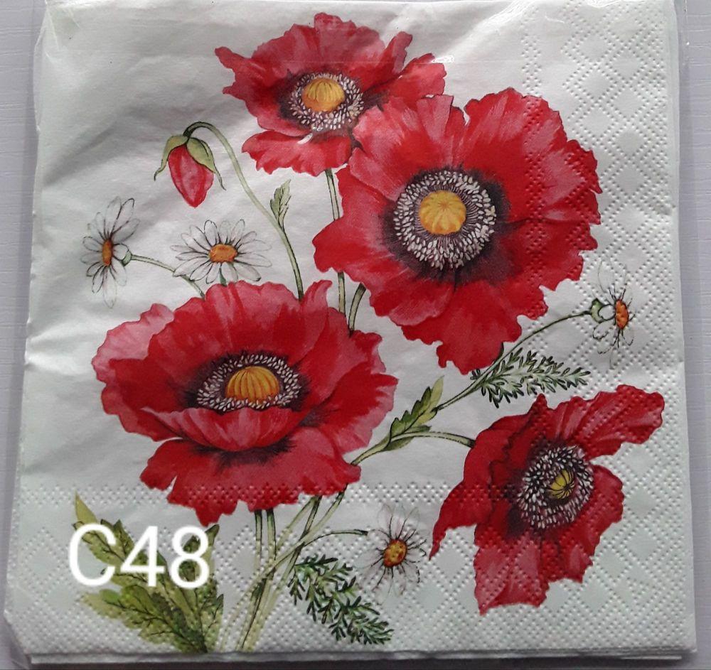 C48 - Poppies