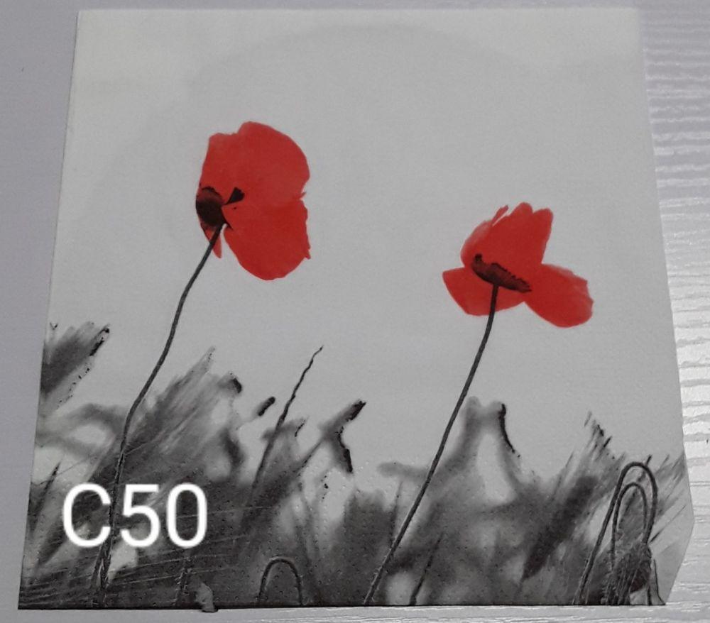 C50 - Poppies