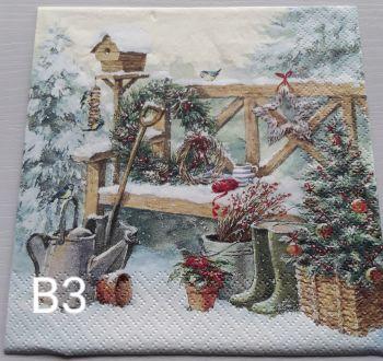 B03 - Garden Bench