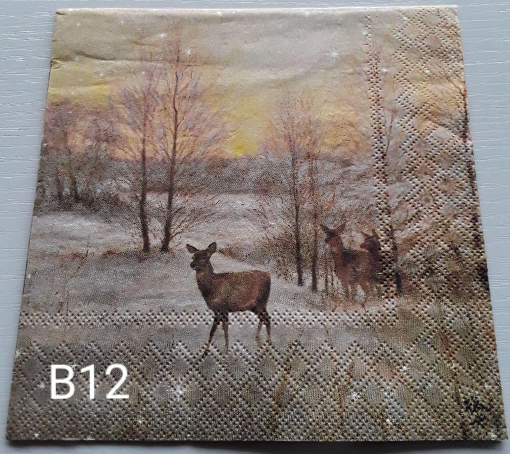 B12 - Deers